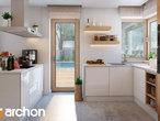 projekt Dom w aurorach 4 Wizualizacja kuchni 1 widok 2