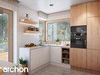 projekt Dom w aurorach 4 Wizualizacja kuchni 1 widok 3