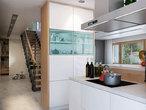 projekt Dom w aurorach 4 Wizualizacja kuchni 1 widok 4