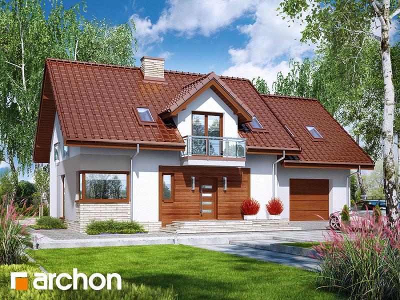 gotowy projekt Dom w jasieńcach 2 (T) widok 1