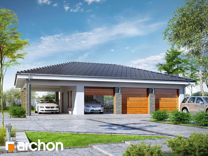 Projekt Garażu Garaż 3 Stanowiskowy G23 Archon