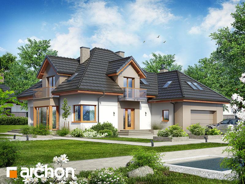 gotowy projekt Dom w nagietkach 2 (NT) widok 1