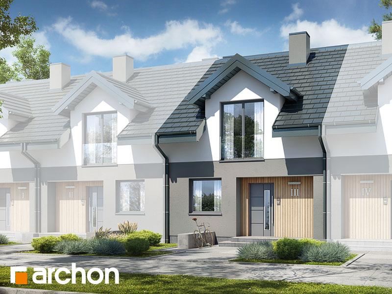 gotowy projekt Dom w klementynkach 2 (S) widok 1
