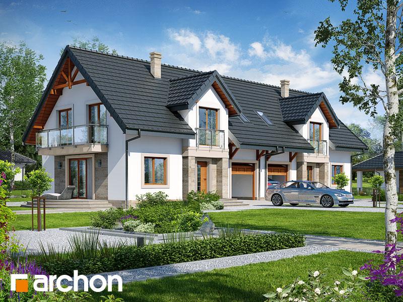 gotowy projekt Dom w lucernie 6 (R2) widok 1