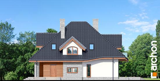 Elewacja boczna projekt dom w zefirantach 3  265
