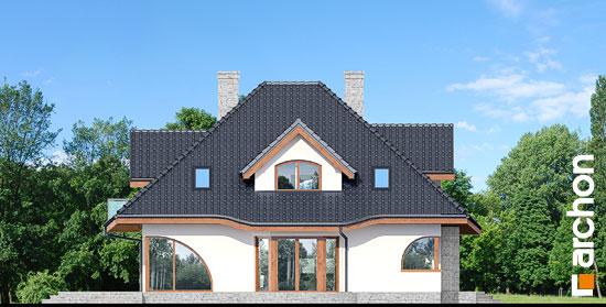 Elewacja boczna projekt dom w zefirantach 3  266