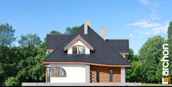Elewacja frontowa projekt dom w zefirantach 3  264