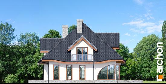 Elewacja ogrodowa projekt dom w zefirantach 3  267