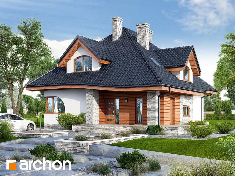 gotowy projekt Dom w zefirantach 3 widok 1