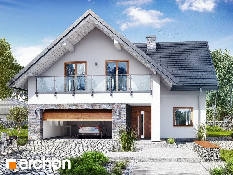 gotowy projekt Dom w montbrecjach (G2) widok 1