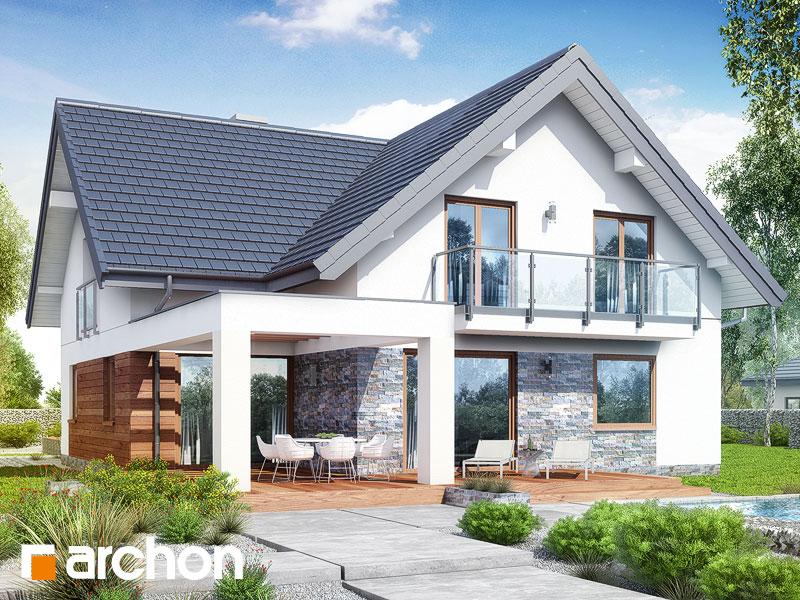gotowy projekt Dom w montbrecjach (G2) widok 2