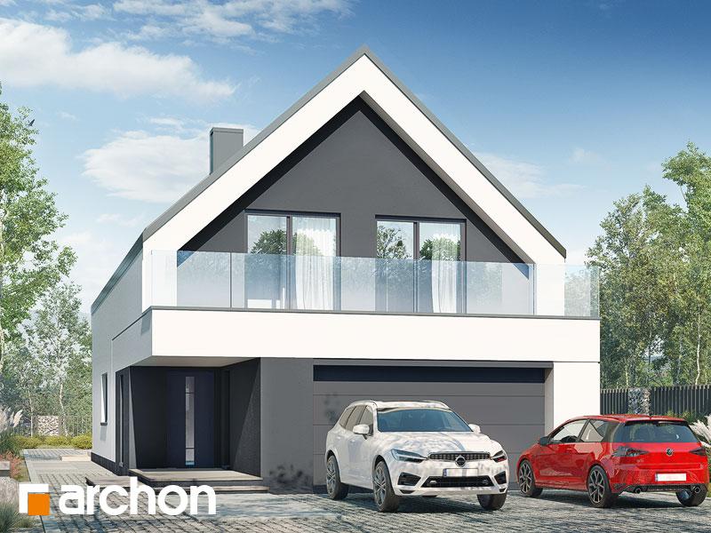 gotowy projekt Dom w sedum (G2) widok 1