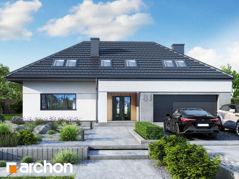 gotowy projekt Dom w kliwiach 11 (G2) widok 1