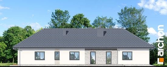 Elewacja boczna projekt dom w araukariach g2  266