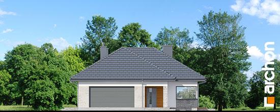 Elewacja frontowa projekt dom w araukariach g2  264