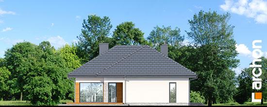 Elewacja ogrodowa projekt dom w araukariach g2  267