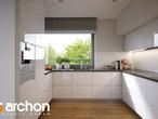 projekt Dom w araukariach (G2) Wizualizacja kuchni 1 widok 1