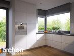 projekt Dom w araukariach (G2) Wizualizacja kuchni 1 widok 2