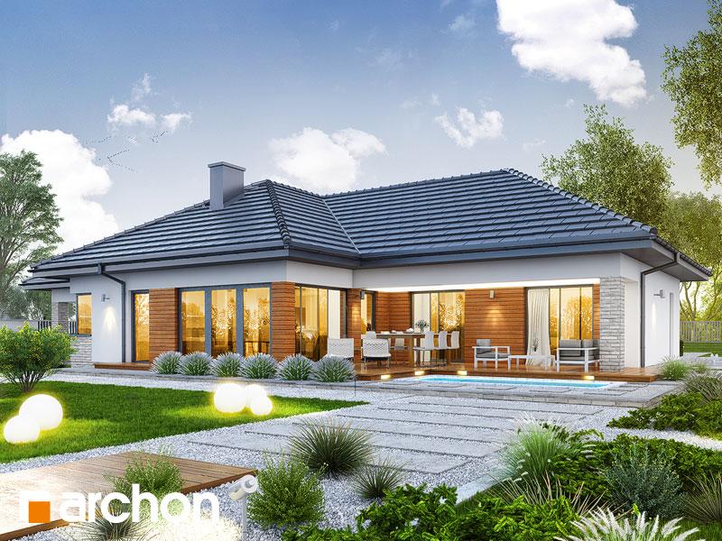 gotowy projekt Dom w araukariach (G2) widok 1