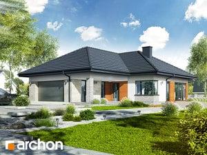 projekt Dom w araukariach (G2) widok 2