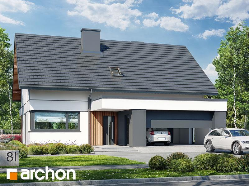 gotowy projekt Dom w naradkach (G2) widok 1