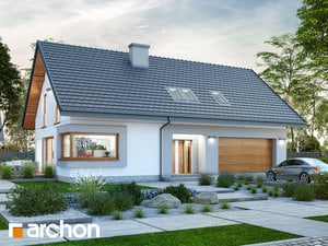 gotowy projekt Dom w zdrojówkach (G2)