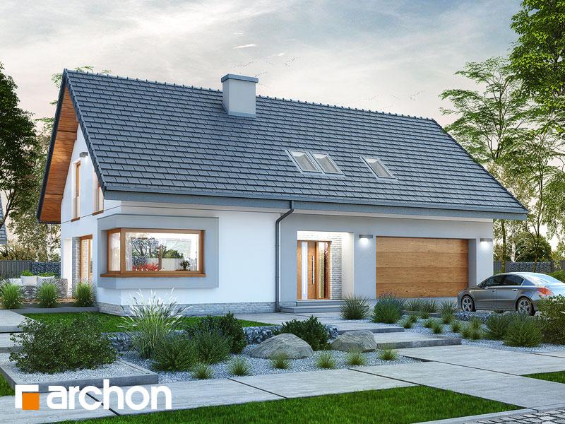 gotowy projekt Dom w zdrojówkach (G2) widok 1
