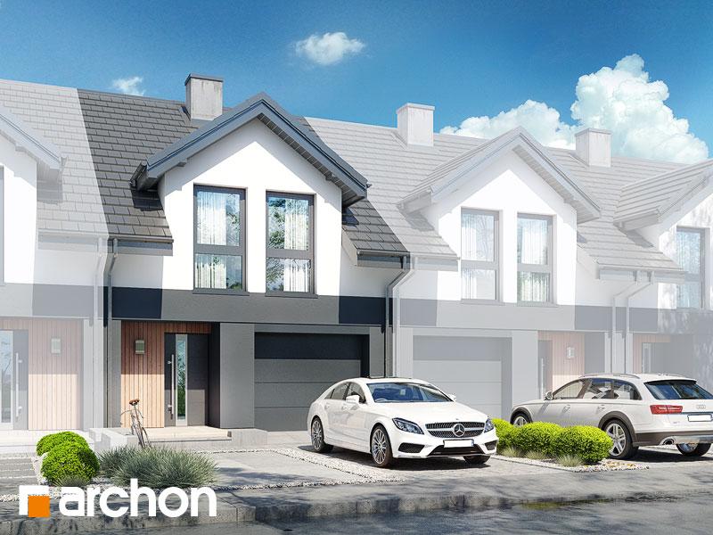 gotowy projekt Dom pod miłorzębem 20 (GS) widok 1