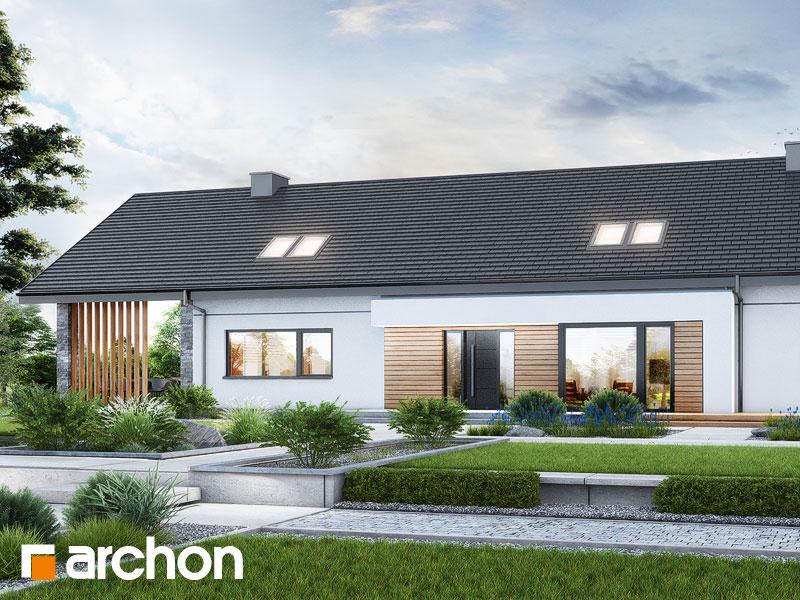 gotowy projekt Dom w gerberach 2 (E) widok 1