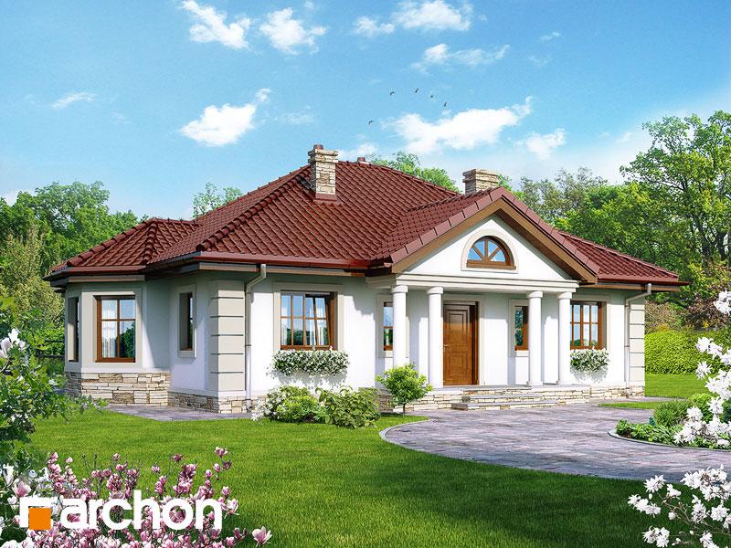 gotowy projekt Dom pod jarząbem 6 widok 1