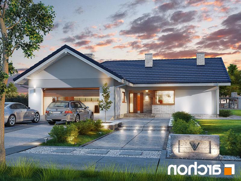 Lustrzane odbicie 1 projekt dom w lonicerach g2  289lo