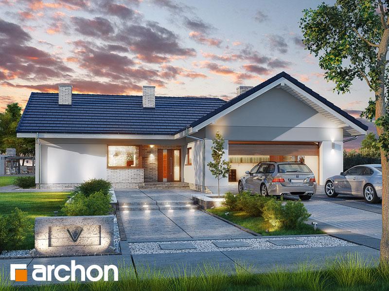 gotowy projekt Dom w lonicerach (G2) widok 1