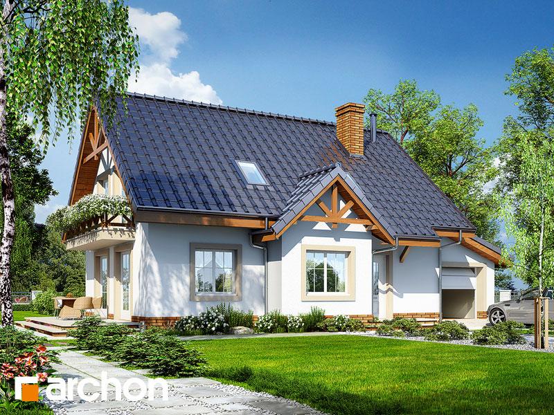 gotowy projekt Dom w groszku 2 widok 1