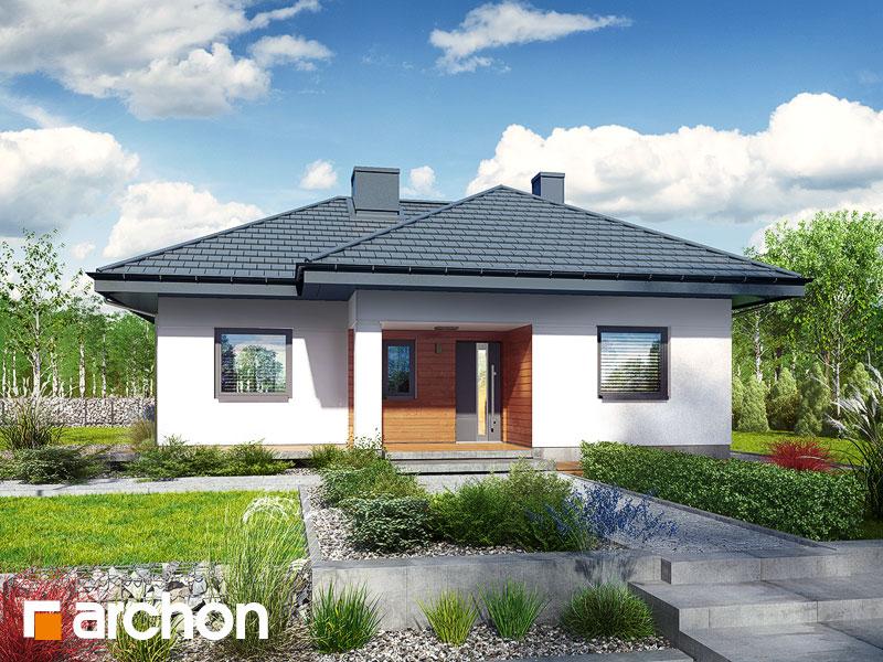 gotowy projekt Dom w kosztelach widok 1