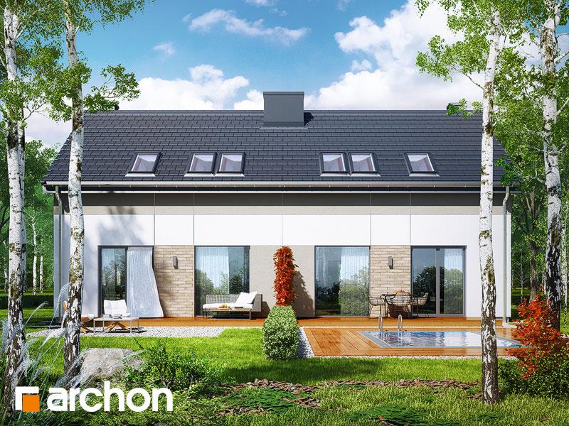 gotowy projekt Dom w arkadiach (R2T) widok 1