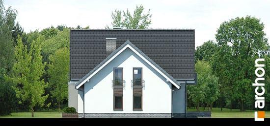 Elewacja boczna projekt dom w rododendronach 5 n ver 2  265