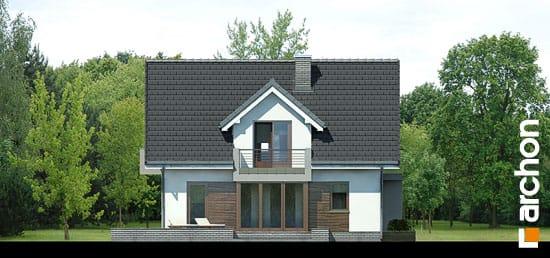 Elewacja boczna projekt dom w rododendronach 5 n ver 2  266