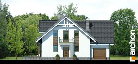 Elewacja frontowa projekt dom w rododendronach 5 n ver 2  264