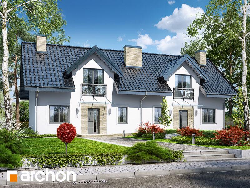 gotowy projekt Dom w rubinach 2 (R2T) widok 1