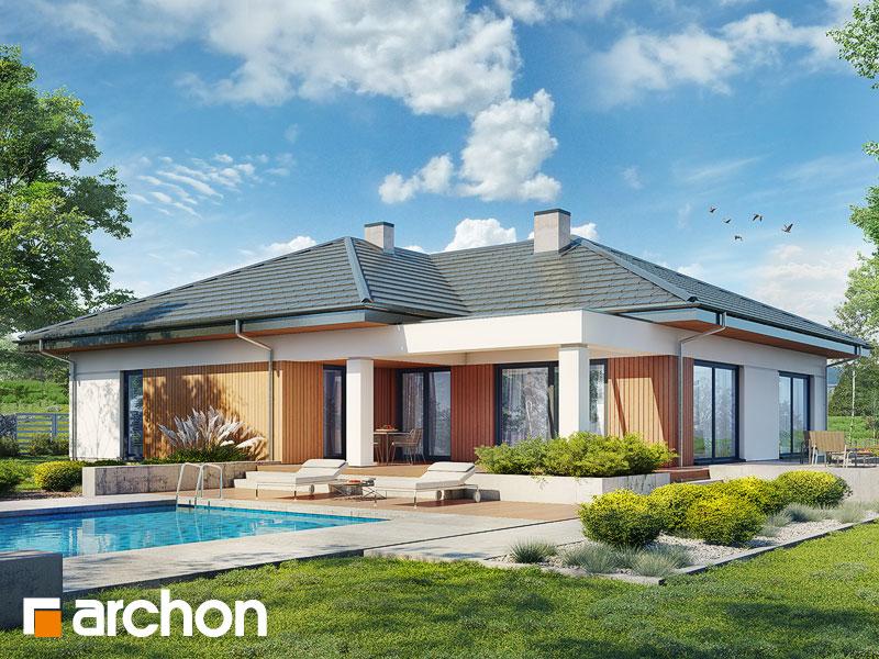 gotowy projekt Dom w jonagoldach 6 (G2) widok 1