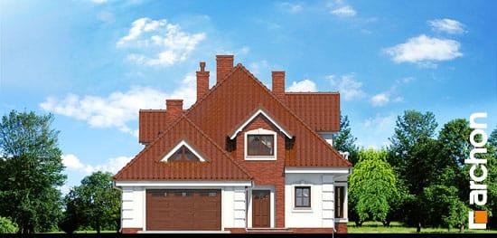 Elewacja frontowa projekt dom w orchideach ver 2  264