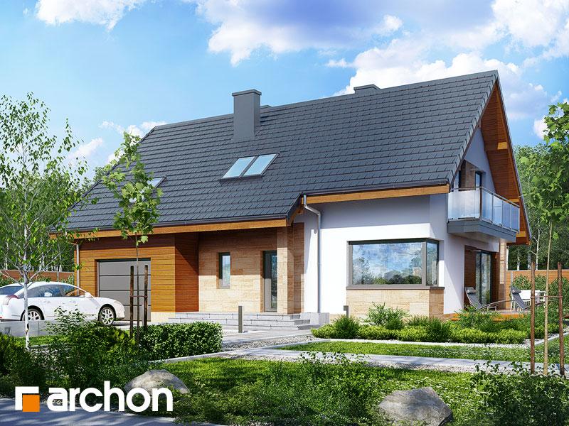 projekt Dom w idaredach 5 (T) widok 1
