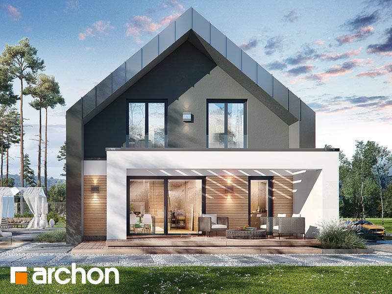 gotowy projekt Dom w dipladeniach 4 (G2E) widok 2