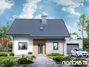 projekt Dom w zielistkach (GPN) lustrzane odbicie 1