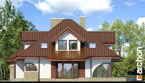 Elewacja boczna projekt dom w zefirantach g2 ver 2  265