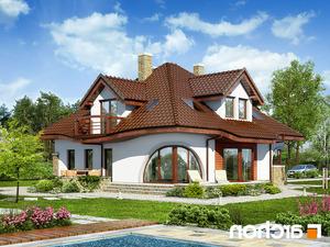 projekt Dom w zefirantach (G2) lustrzane odbicie 2