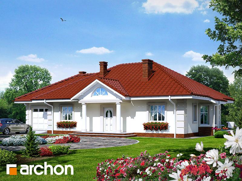 gotowy projekt Dom pod jarząbem (G) widok 1