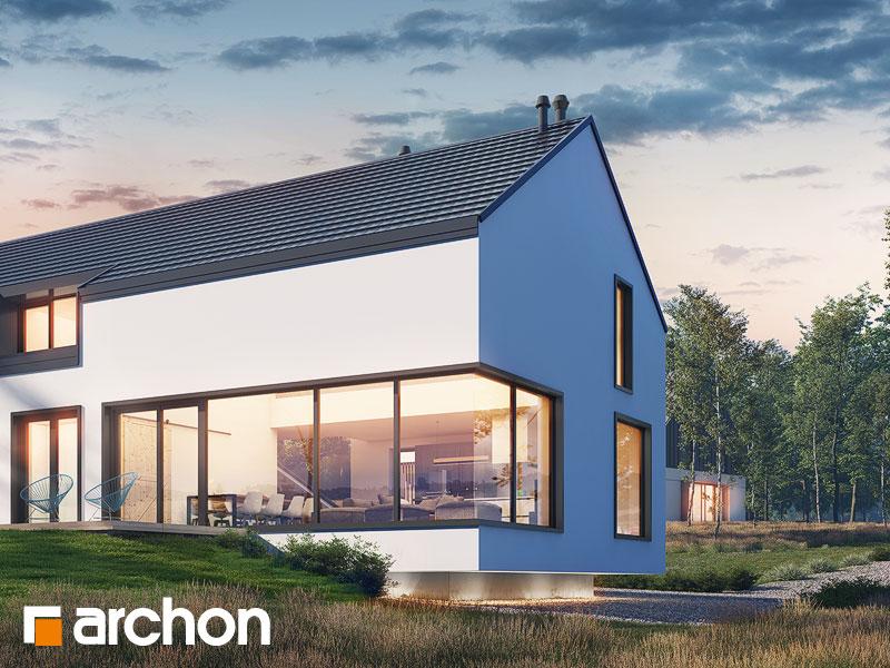 gotowy projekt Dom w callunach (G2) widok 1