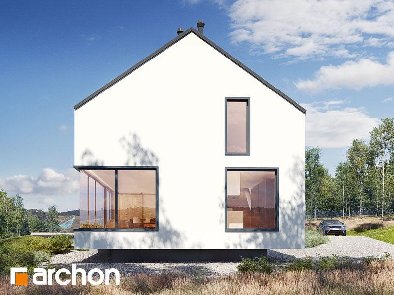 gotowy projekt Dom w callunach (G2) widok 2