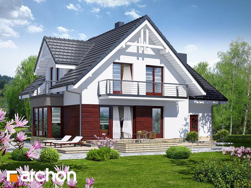 gotowy projekt Dom w tamaryszkach 2 (NT) widok 2